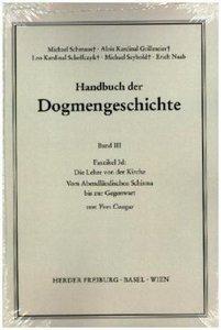 Handbuch der Dogmengeschichte III/3d
