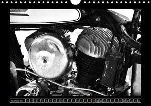 Harley Davidson WLA 750 in Schwarzweiss