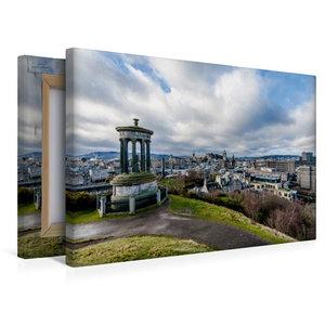 Premium Textil-Leinwand 45 cm x 30 cm quer Calton Hill