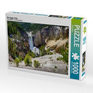 Die Upper Falls 1000 Teile Puzzle quer