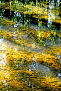 Premium Textil-Leinwand 30 cm x 45 cm hoch Ein Pool von Wasser i