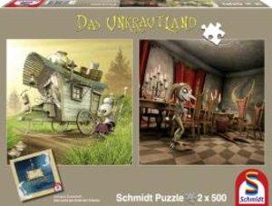 Schmidt Spiele 59601 - Unkrautland: Quadratpuzzles, Die Koboldfr