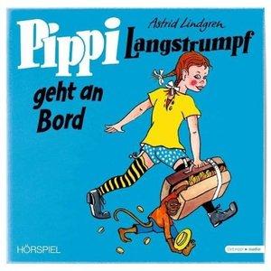 Pippi Langstrumpf geht an Bord. Vinyl-Ausgabe