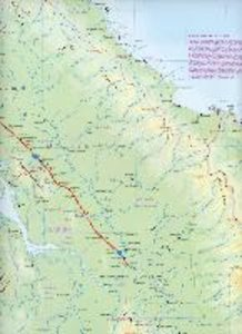 Panama Travel Reference Map 1 : 300 000