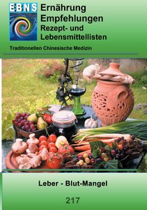 Ernährung -TCM - Leber - Blut-Mangel