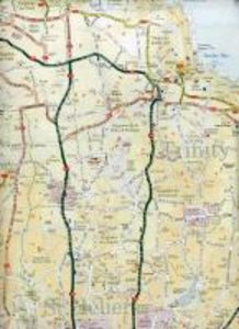Jersey Travel Reference Map 1 :12 000