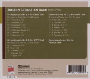 Orchestersuiten 1-3