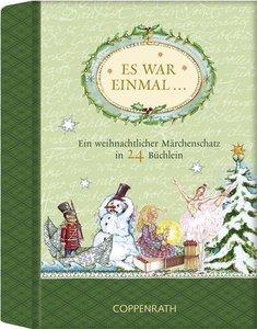 Es war einmal ... - Ein weihnachtlicher Märchenschatz in 24 Büch