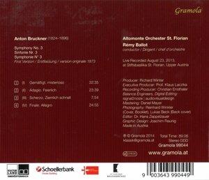 Sinfonie 3 (Erstfassung 1873)
