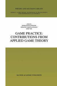Game Practice: Contributions from Applied Game Theory