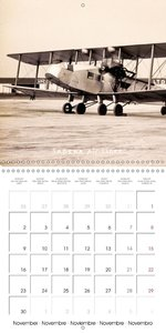 Biplanes on historic postcards (Wall Calendar 2015 300 × 300 mm