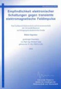Empfindlichkeit elektronischer Schaltungen gegen transiente elek