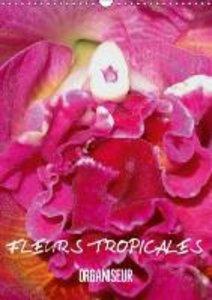 Fleurs tropicales / organiseur (Calendrier mural 2015 DIN A3 ver