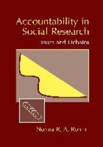 Accountability in Social Research