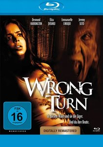 Wrong Turn remastered-Blu-ray Disc