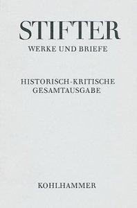 Werke und Briefe II/3. Apparat, Kommentar I
