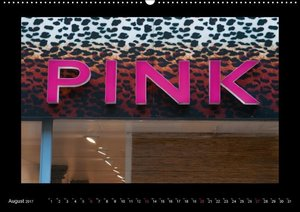 Pink Objekte und Details 2017 (Wandkalender 2017 DIN A2 quer)