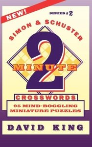 Simon & Schuster Two-Minute Crosswords Vol. 2