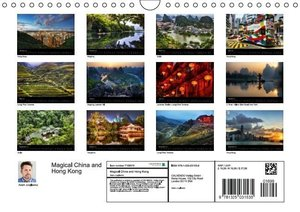 Magical China and Hong Kong (Wall Calendar 2015 DIN A4 Landscape