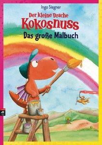 Der kleine Drache Kokosnuss - Das große Malbuch