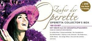 Zauber der Operette - 100 CD Edition