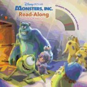 Disney Monsters, Inc. Read-Along Storybook and CD