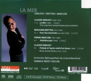 La Mer/Mercure/Britten: Four Sea Interludes