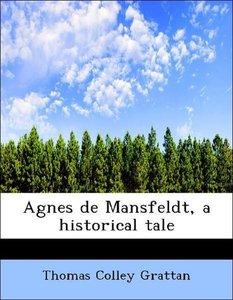 Agnes de Mansfeldt, a historical tale