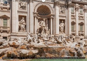a weekend in Rome / UK-Version (Wall Calendar 2015 DIN A3 Landsc