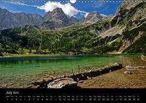 Romantic Places In Bavaria (Wall Calendar 2015 DIN A3 Landscape)