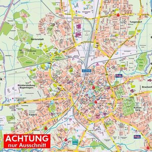 HARTMANN-PLAN Neumünster, 1:20.000, Stadtplan