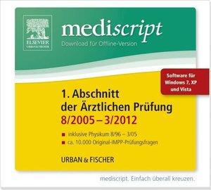 mediscript: Mediscript 1. Abschnitt der Ärztlichen Prüfung