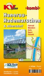 Hanerau-Hademarschen & Albersdorf 1 : 10 000