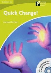 Quick Change! Book with CD-ROM and Audio CD