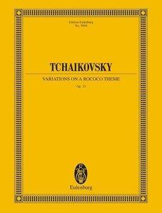 Variationen über ein Rokoko-Thema für Violoncello und Orchester