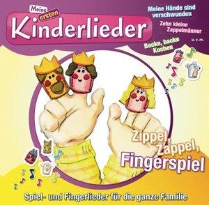 Meine ersten Kinderlieder - Zippel, Zappel, Fingerspiel