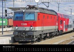 Europäische Eisenbahnen im Auge der Kamera (Wandkalender 2016 DI