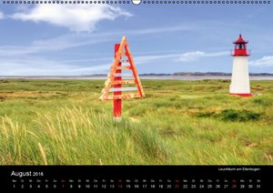 Sylt (Wandkalender 2016 DIN A2 quer)
