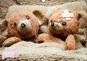 Bärenstarkes Teddy-Leben (Wandkalender 2016 DIN A3 quer)