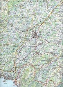 Swisstopo 1 : 100 000 Lindau
