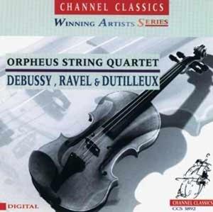Debussy,Ravel & Dutilleux: String Quartets