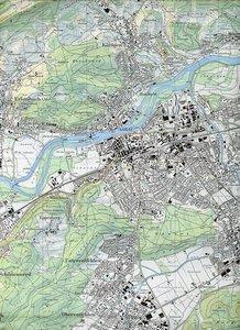Swisstopo 1 : 25 000 Aarau