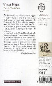 Hugo, V: FRE-LES MISERABLES T02