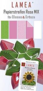 LAMEA Papierstreifen Rosa Mix