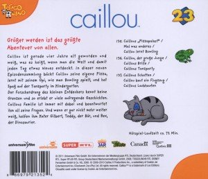 Caillou 23 Audio:Caillou lernt Bowling und weitere