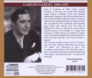 Gardel King Of Tango Vol.1