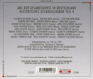 Abc Der Gesangskunst Teil 4