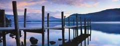 Ravensburger 15112 - Idylle am See, Panorama Puzzle, 1000 Teile - zum Schließen ins Bild klicken