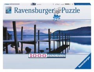 Ravensburger 15112 - Idylle am See, Panorama Puzzle, 1000 Teile