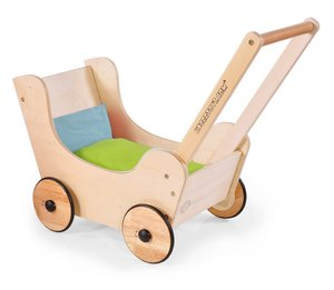 Knorrtoys 66913 - Puppenwagen Walky, Naturholz